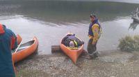 Un turista lesionado en el Lago Escondido fue rescatado