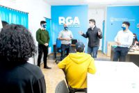El intendente Martín Pérez inauguró un nuevo espacio para los jóvenes