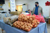 Inician reparto de cortes de carne y verduras a comedores y ollas populares de la ciudad