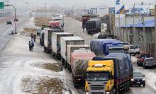 Más de cien camiones que vienen a la provincia están varados en Río Gallegos