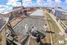 Avanza el plan de pavimentación en la ciudad de Río Grande