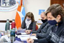 La vicegobernadora Urquiza presidió la reunión de la Comisión de Labor Parlamentaria