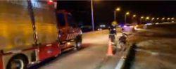 Motociclista resultó herido al tratar de sobrepasar a un rodado